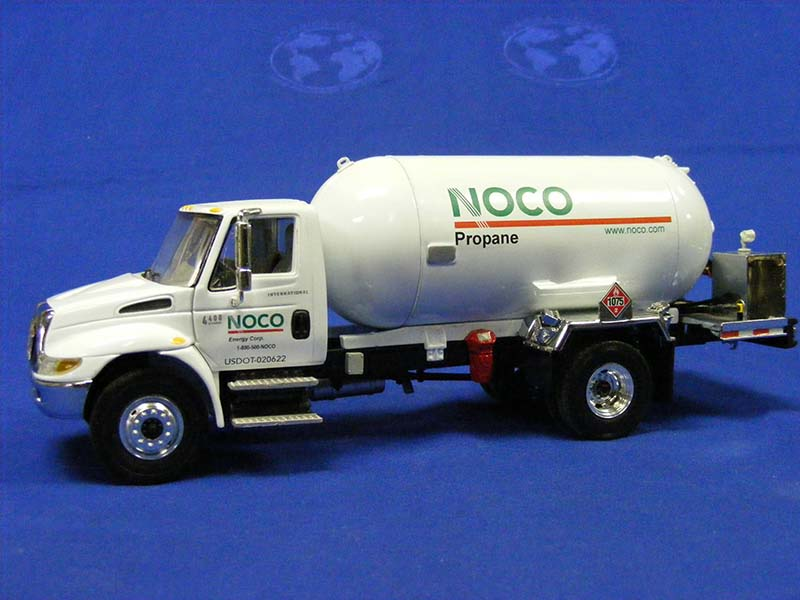 First Gear International propane truck decaled for NOCO energy