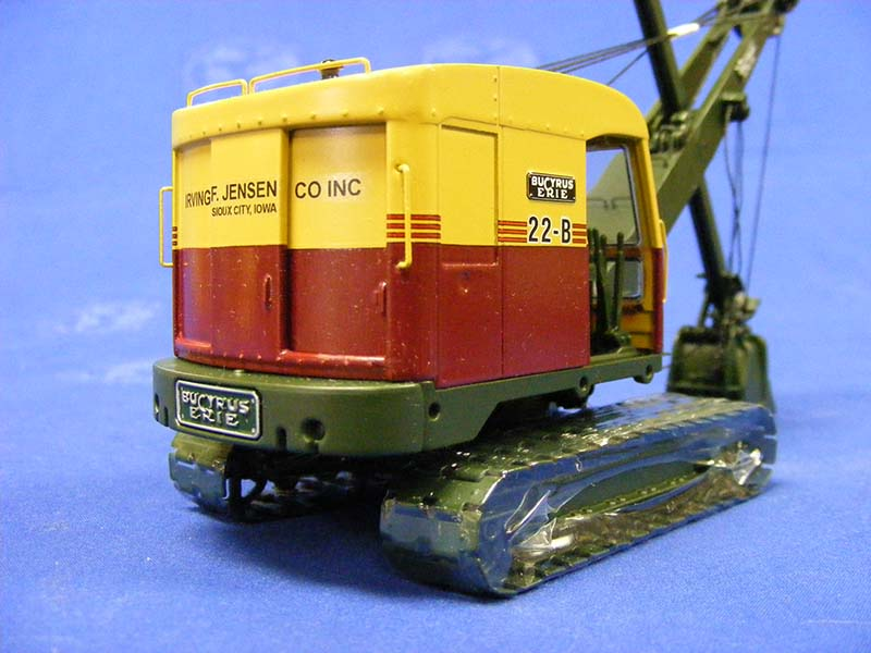 Bucyrus-Erie 22-B by EMD custom decaled