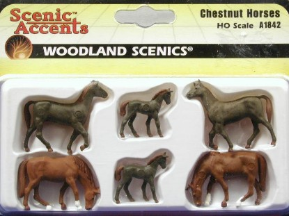 chestnut-horses-set-of-6--woodland-scenics-WDS1842