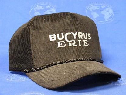 hat-bucyrus-erie-black-with-silver-letters-brih-hats-BRIH003