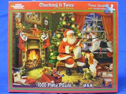 christmas-santa-checking-it-twice-puzzle--PUZ486