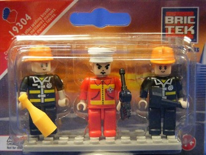 Picture of Mini Figures - Fire Brigade (3)
