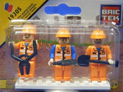 Picture of Mini Figures - Construction (3)