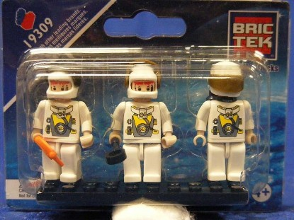 Picture of Mini Figures - Space Astronauts (3)