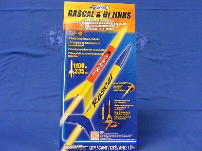 Picture of Rascal & Hi Jinks model rocket launch set