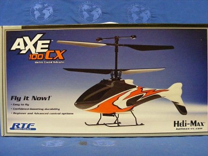 Picture of AXE 100 CX RC Helicopter