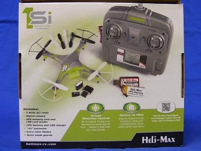 Picture of 1SI Quadcopter w/ Camera- Radio control