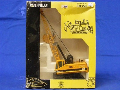 Picture of Caterpillar 225 clamshell pyramid logo old color