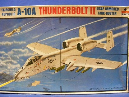 Picture of A-10A Thunderbolt -USAF Armored Tank Buster