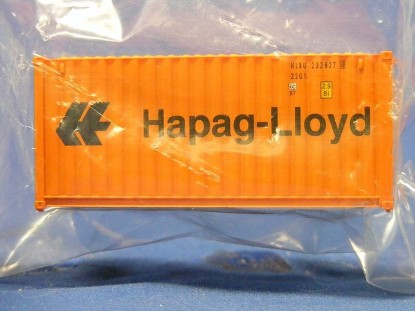 """Picture of 20"""" Fully Corrugated Container-HAPAG-LLOYD"""