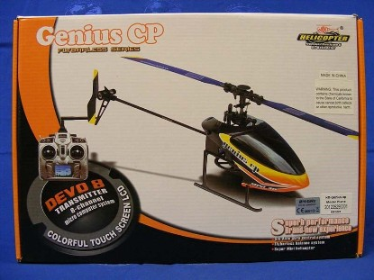 Picture of Genius CP Flybarless RC helicopter