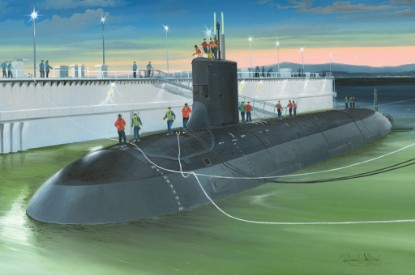 Picture of USS Virginia SSN-774 submarine