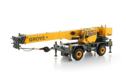 Picture of Grove RT540E RT crane   yellow