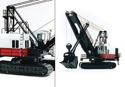 Picture of Lima 2400-B cable shovel