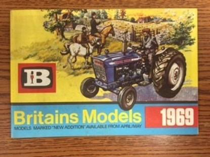 Picture of Britains 1969 catalog