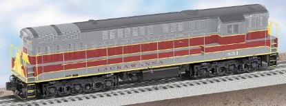 Picture of Diesel Locomotive LACKAWANNA powered