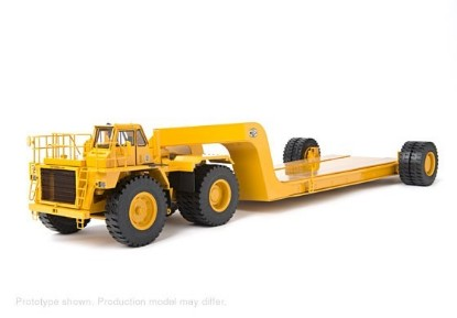 Picture of Cat 776 + MET-185 heavy mining flatbed trailer