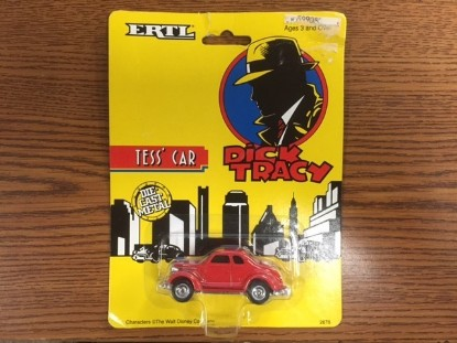 Picture of Dick Tracy Tess' car