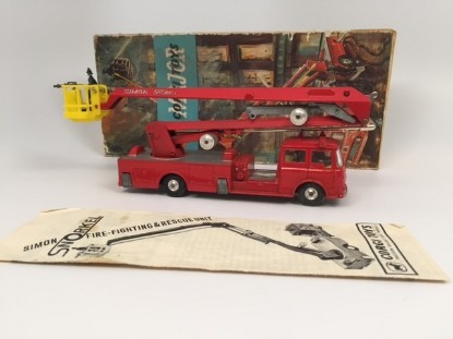 Picture of Simon Snorkel fire truck