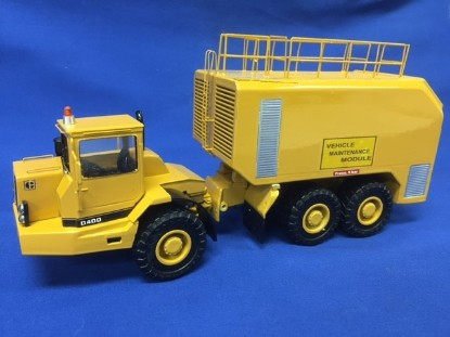 Picture of Cat D400 articulated vehicle maintenance module