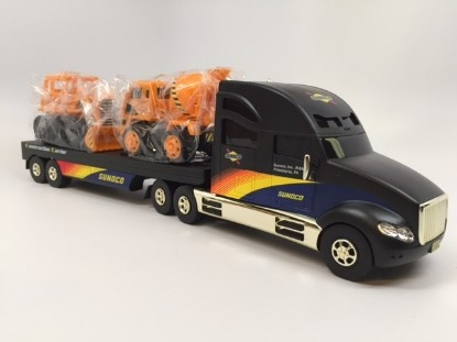 Picture of 2002 Sunoco construction carrier truck - GOLD