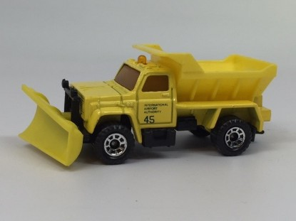 Picture of Chevrolet  Snow Plow  yellow Airport Authority