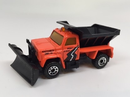 Picture of Chevrolet  Snow Plow - orange