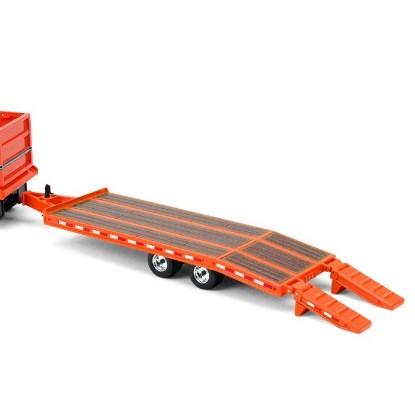 Picture of Beavertail equipment trailer  orange