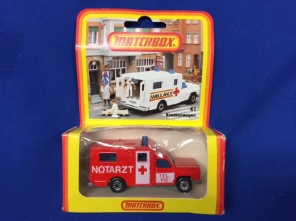 Picture of Ambulance  NOTARZT  red