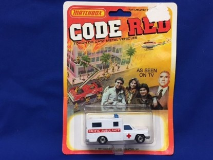 Picture of Ambulance  CODE RED Pacific Ambulance