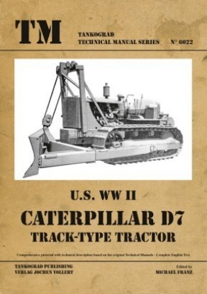 Picture of Caterpillar WW2 D7 technical manual