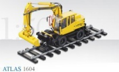 Picture of Atlas 1604 road rail excavator