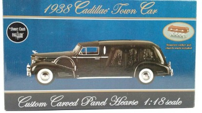 Picture of 1938 Cadillac Town Car Custom Carved Panel Hearse