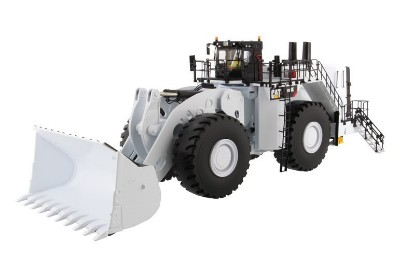 Picture of Caterpillar 994K wheel loader with coal bucket - white