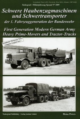 Picture of Military Vehicle Special: First Generation Modern German Army Heavy Prime Movers & Tractor Trucks Book