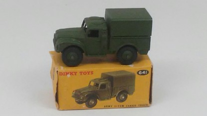 Picture of Army 1 ton cargo truck