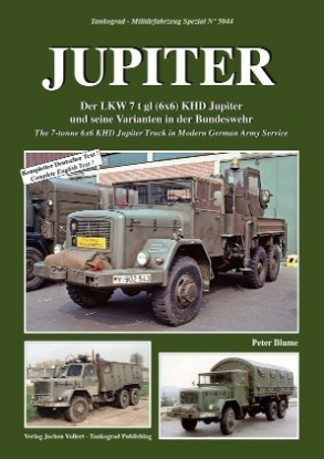 Picture of Military Vehicle Special: Jupiter 7 ton 6x6 KHD truck book