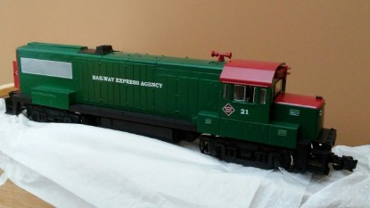 Picture of ALCO locomotive  REA  Limited edition 28