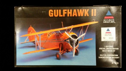 Picture of Gulfhawk II -Gulf Oil Corp. Demonstration Aircraft