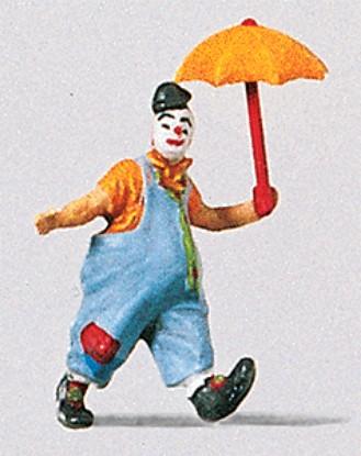 Picture of Clown w/Umbrella