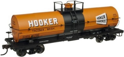 Picture of 11,000 Gallon Tank Car- HOOKER CHEMICALS