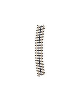 Picture of Curve track 3 rail-072 full curve NS-brown ties