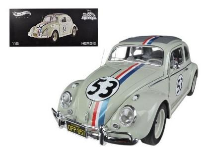 """Picture of 1963 Volkswagen Beetle """"The Love Bug"""" Herbie #53 Elite Editi."""