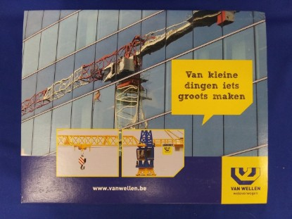 Picture of Liebherr 112 EC-H tower crane  VAN WELLEN