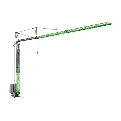 Picture of Liebherr 81K fast erecting crane - VOLKBAU  green