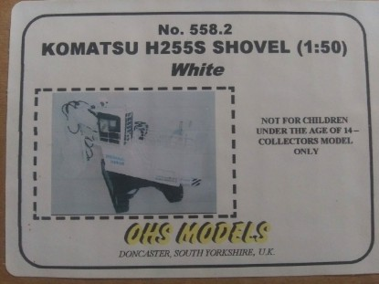 Picture of Demag H255S shovel  white