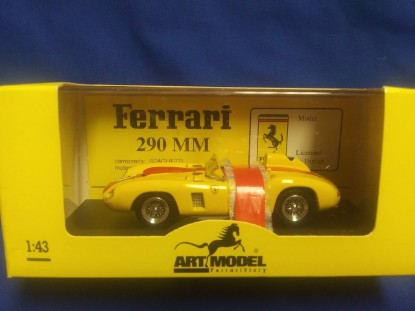 Picture of 1957 Ferrari 290 MM Swaters/Cangy  #11-yellow -