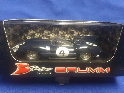 Picture of 1956 Jaguar D type  Race Car #4 Ninian Sanderson