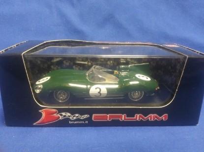 Picture of 1956 Jaguar D type  Race Car #3 Jack Fairman