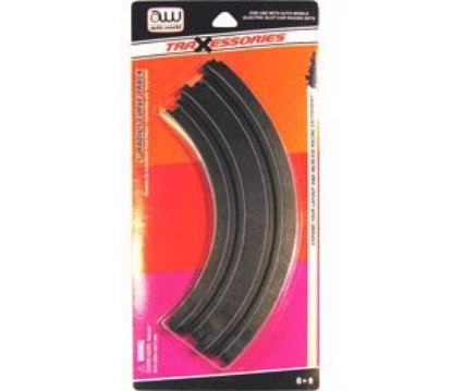 "Picture of HO Slot Car track  9"" curve (2pk)"